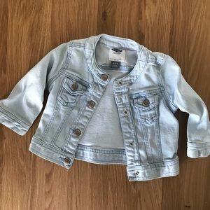 5/$25 ✨ Baby Denim Jacket